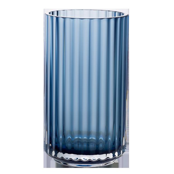 lyngby vase blå